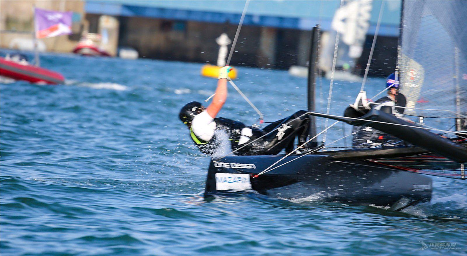 2018青岛国际极限帆船赛。帆舞浮山湾,劈浪耕海,精彩瞬间。