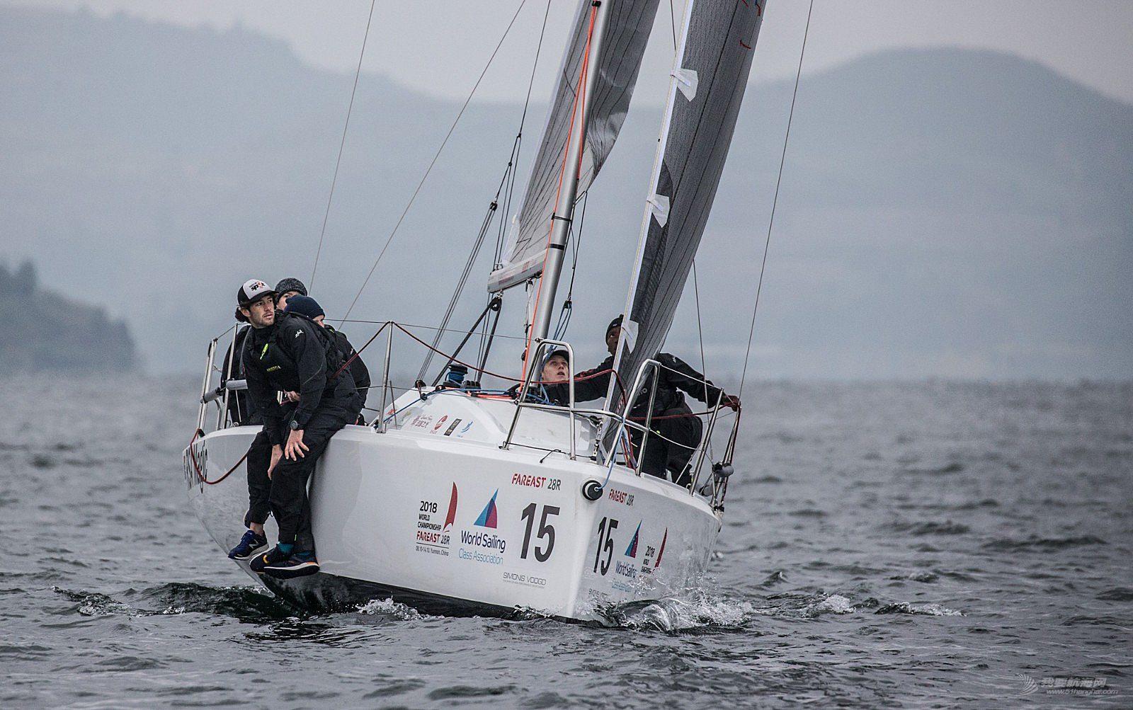 2018国际珐伊28R帆船世锦赛精彩图片贴6