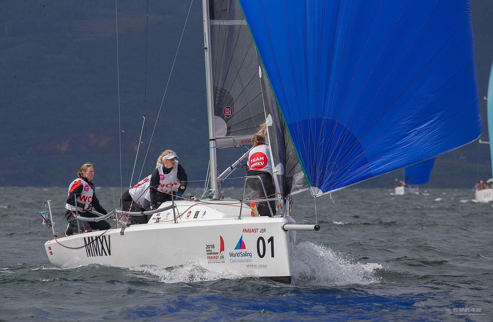 2018国际珐伊28R帆船世锦赛精彩图片贴8