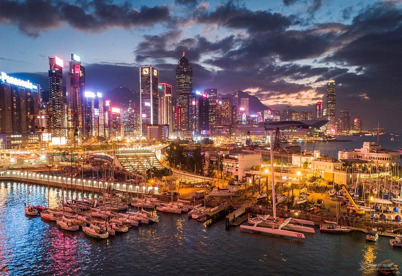 第十二届中国杯帆船赛开幕 34个国家和地区1600名水手逐浪大亚湾