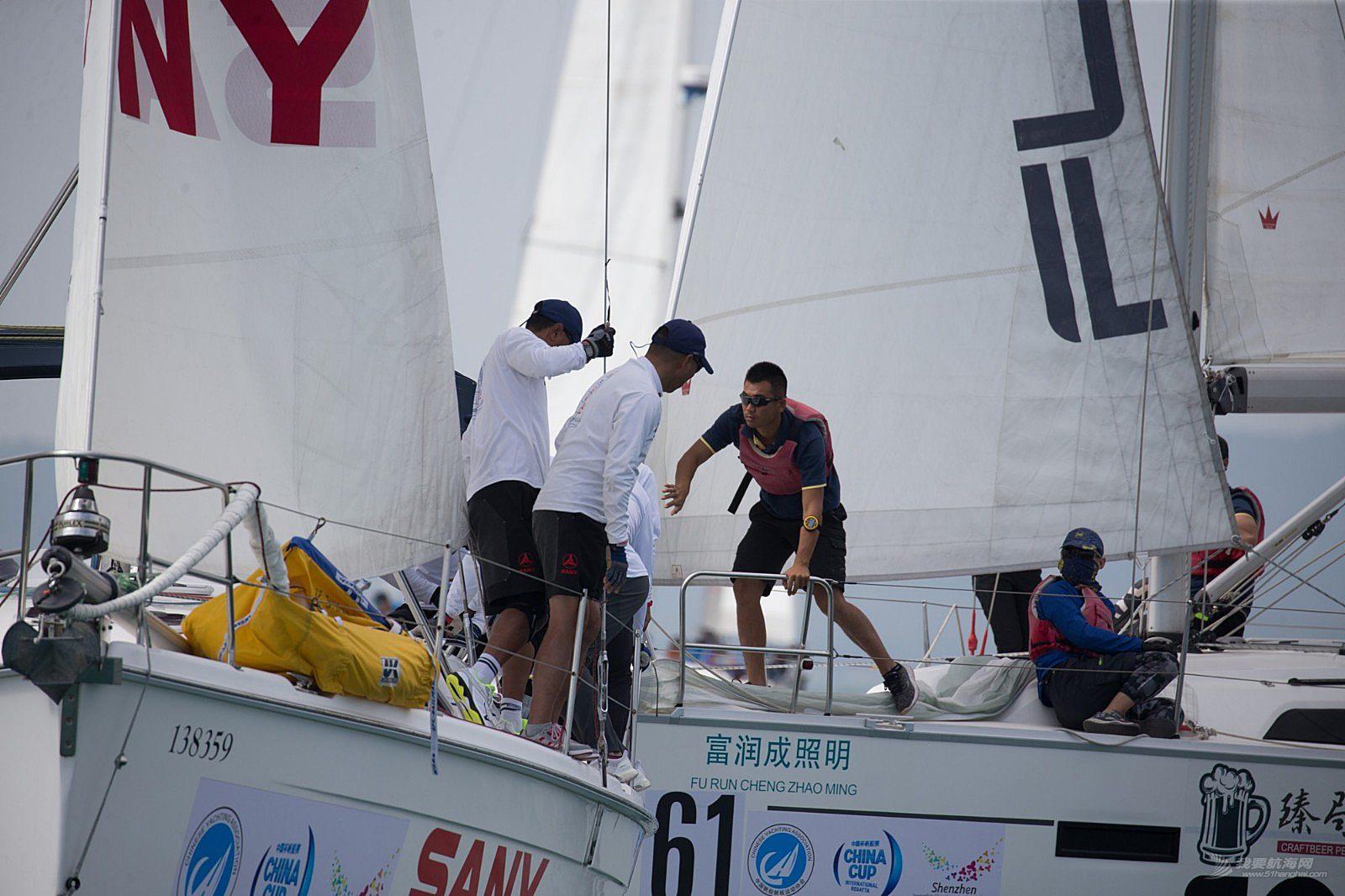 2018第十二届中国杯帆船赛9日赛事图片贴2