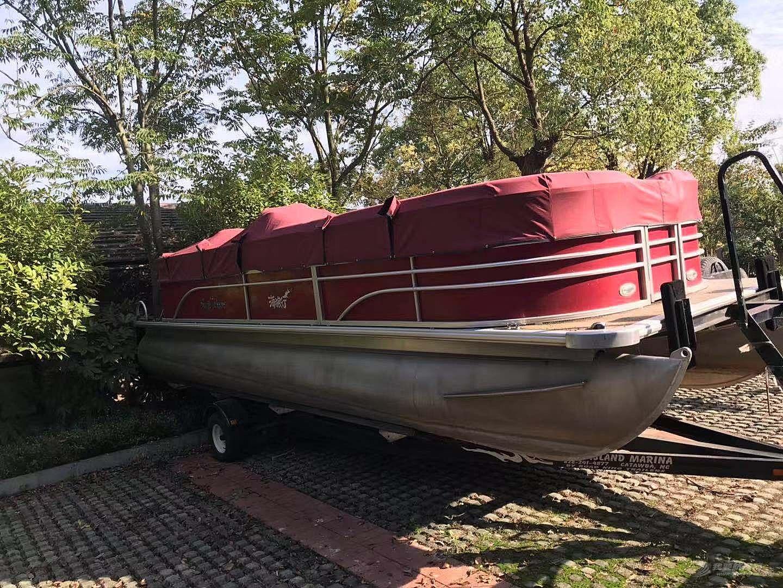 美国原装进口 太阳追逐者 铝合金浮筒船