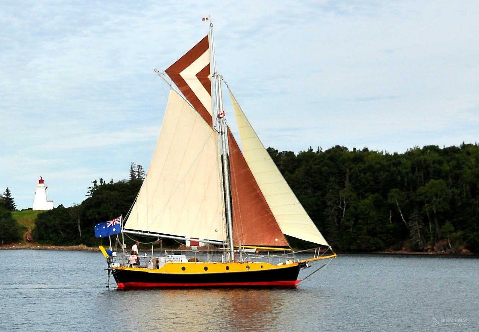 介绍一个经典船型 Benford Dory