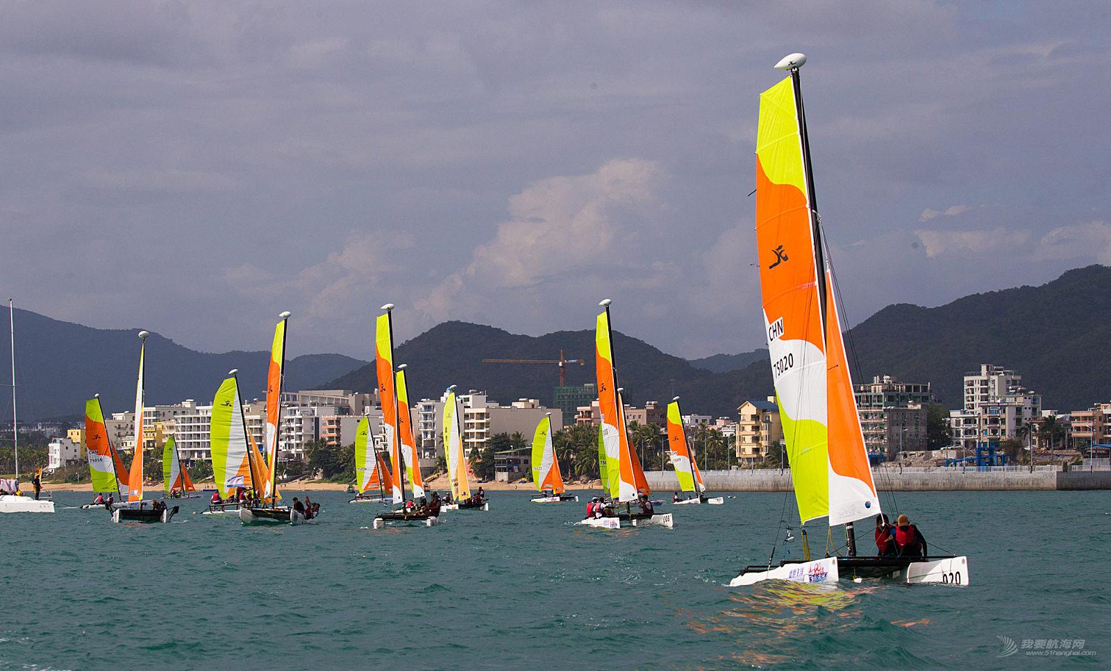 2018中国家庭帆船赛三亚站12月1日精彩视频