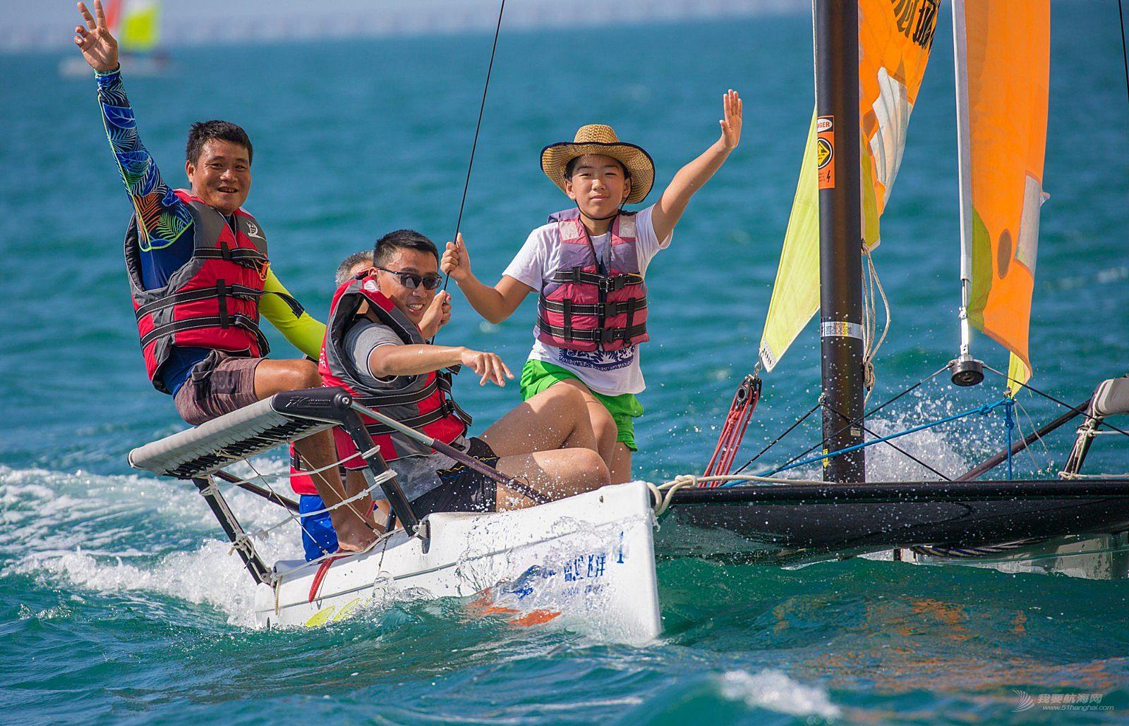 2018中国家庭帆船赛天涯海角杯三亚站精彩图片2