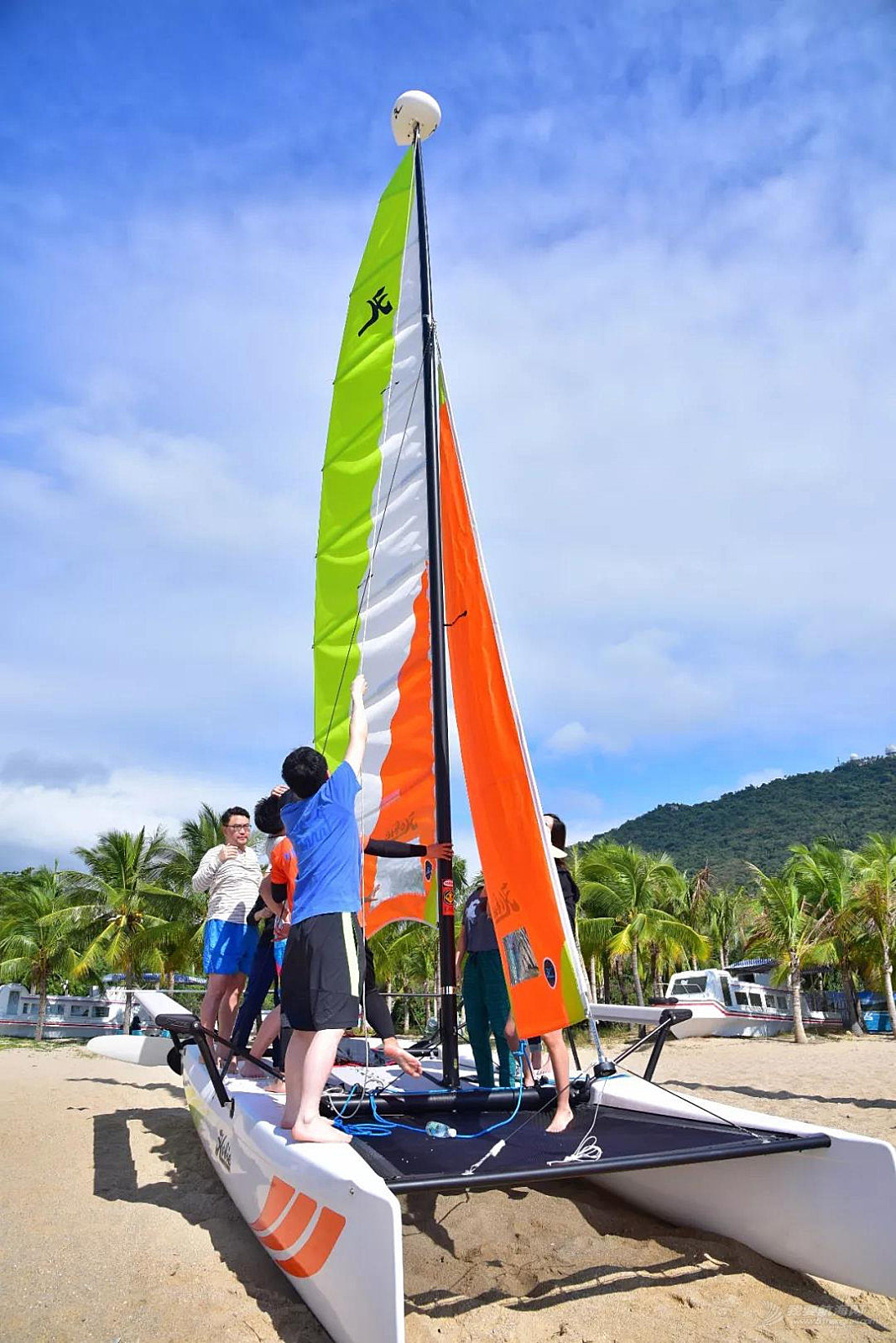 最浪漫的家帆赛三亚站赛前培训:航行到天涯海角