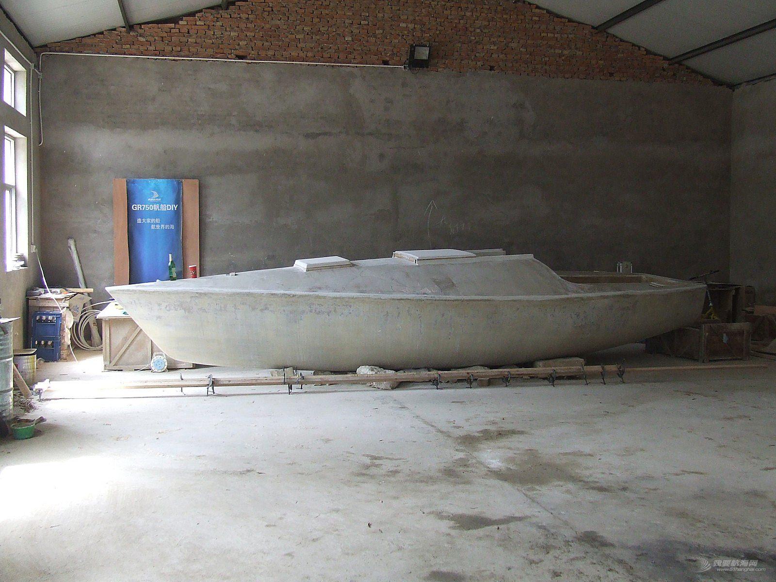 DIY帆船,造船,diy游艇 GR750帆船DIY大事记
