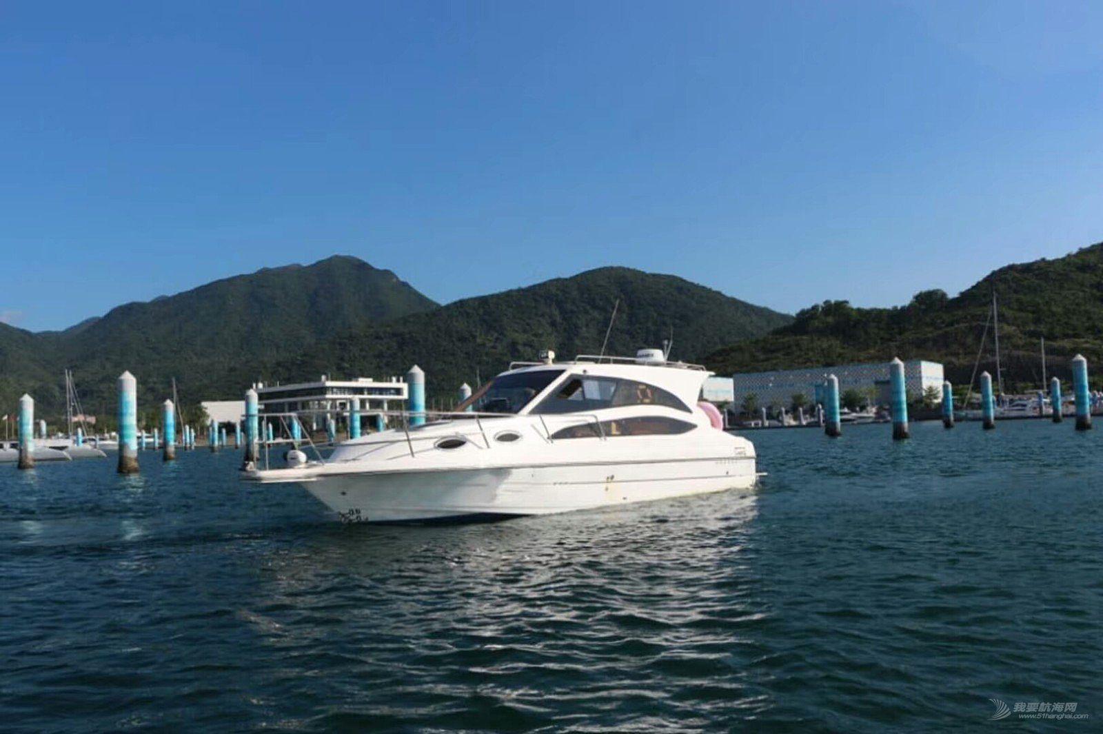 31尺豪华小游艇(钓鱼艇)转让,船况好,目前船在深圳
