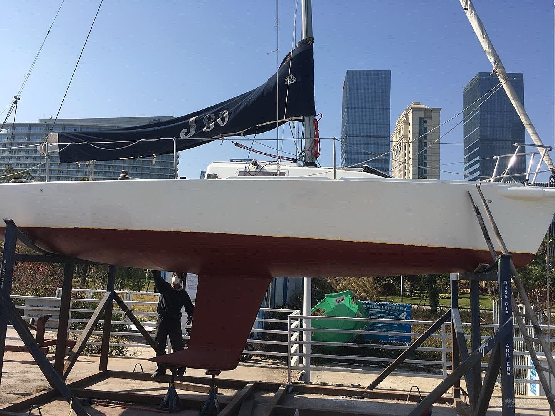 二手J80帆船出售