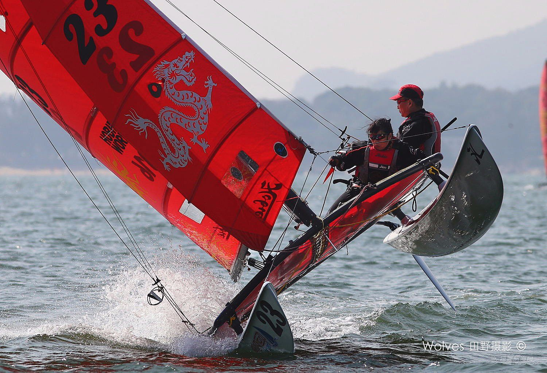 运动型小帆船Hobie 16与 Weta的对比