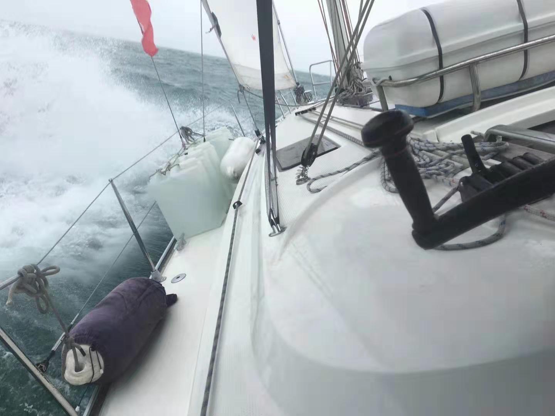 北部湾,航程,晕船,两天,两位 帆游北部湾