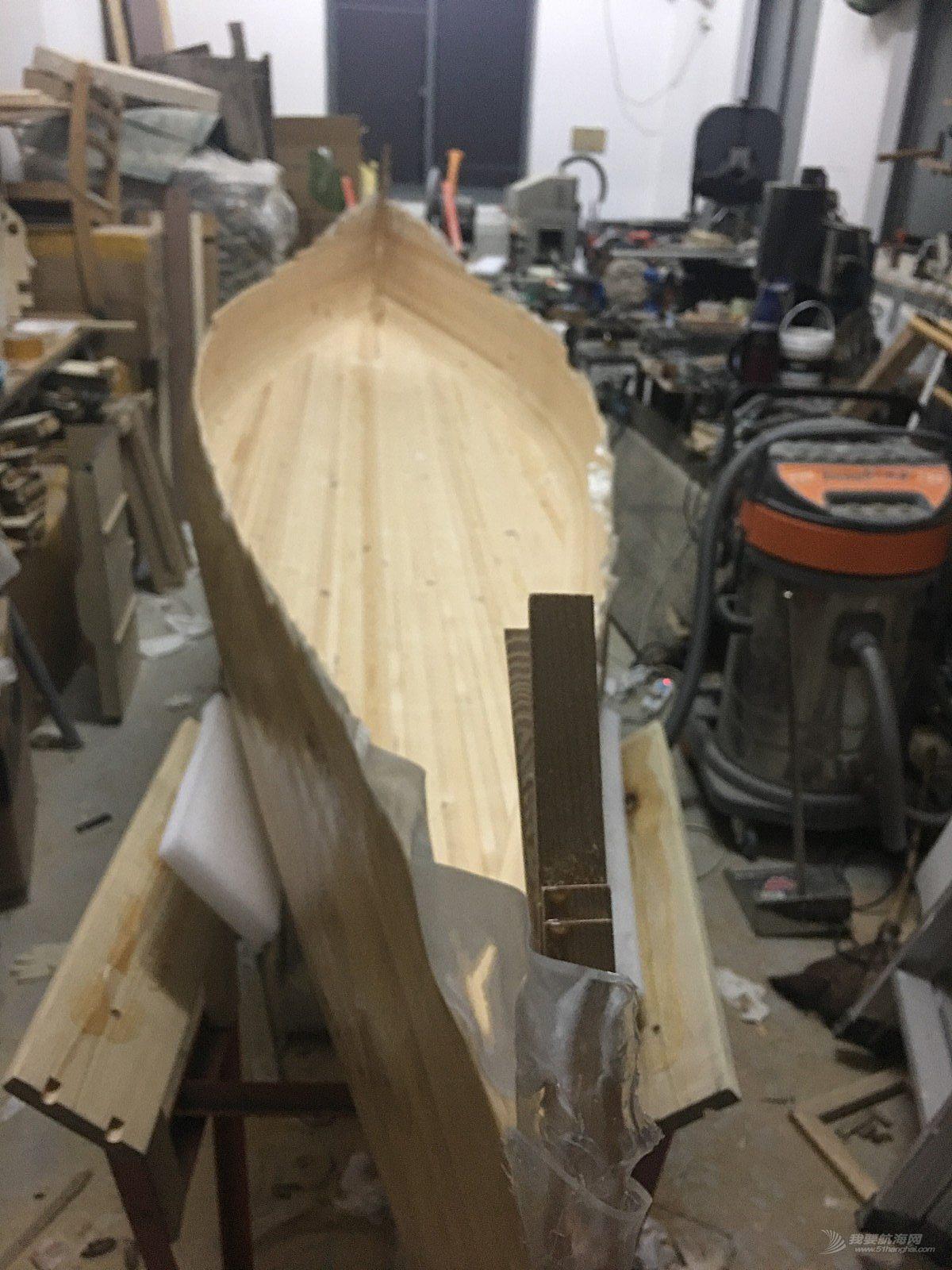 我的造船日记-独木舟