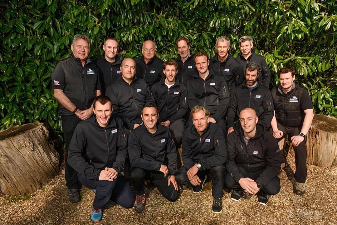 克利伯环球帆船赛的船长们正在接受GRA的领导力培训