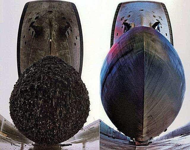 刮船底,不简单,航母,十几万美元 刮船底这事不简单,曾经位列海军三大累,航母每次都要十几万美元