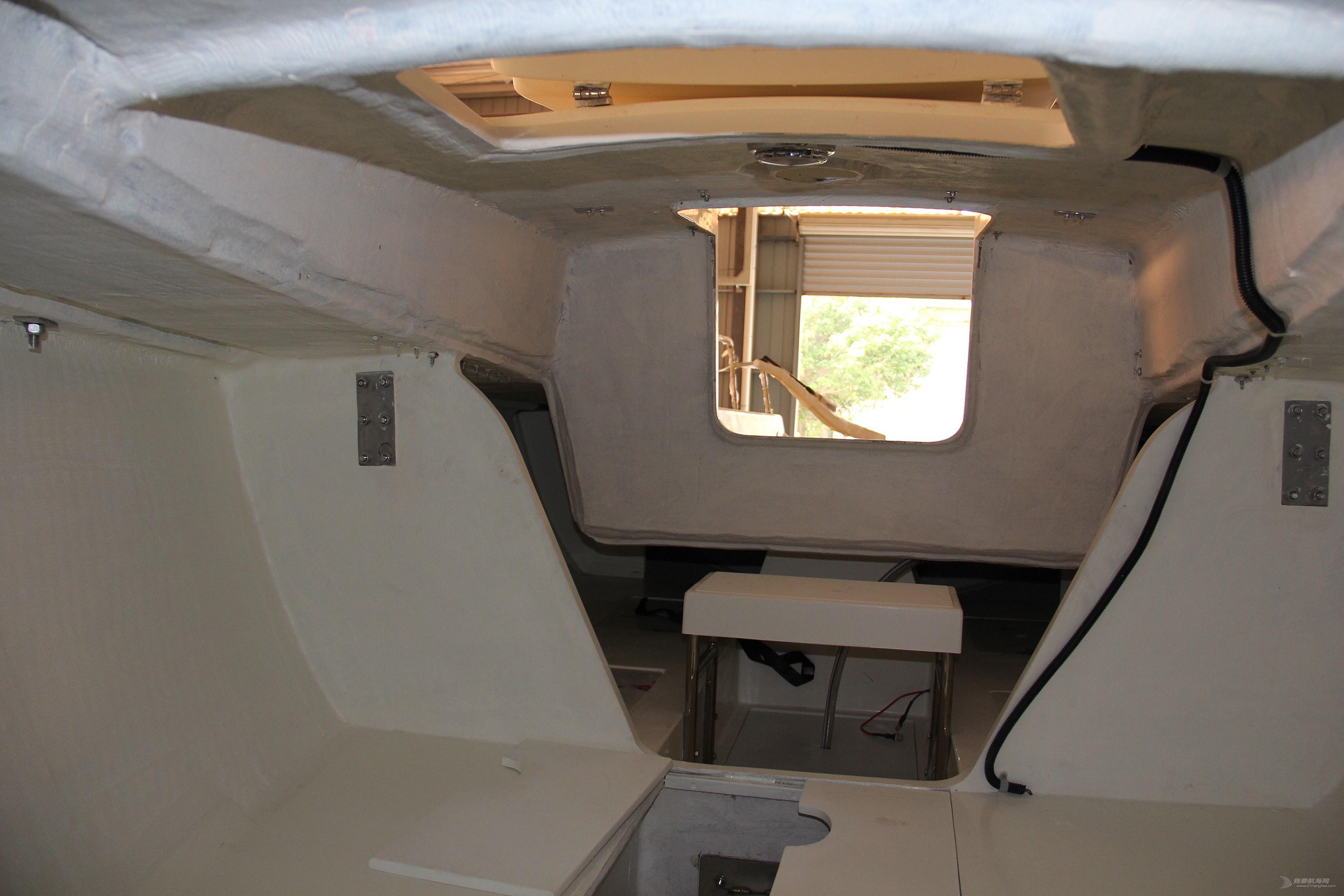 乘员8人24尺帆船  航通H80抽真空制造