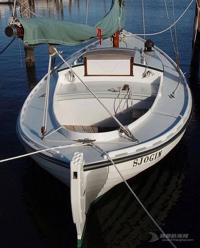 用模型再现北欧古典小帆船的风采