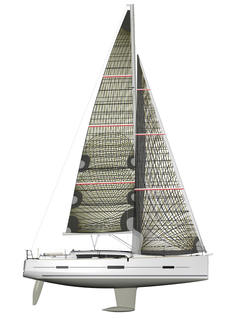 nbsp,帆船,我们,Dufour,托付 出售法国进口DUFOUR410