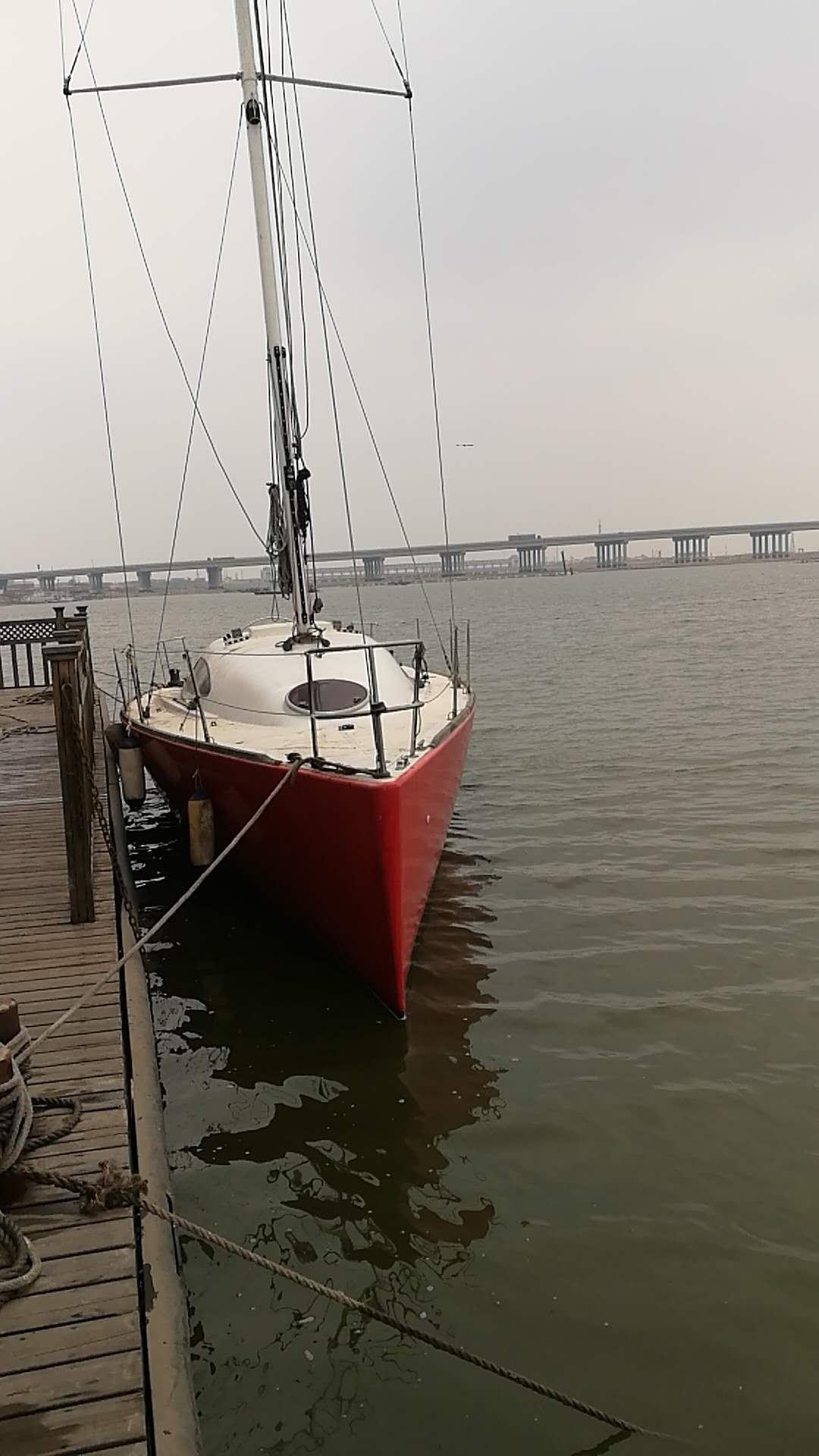 帆船,性能,出色,竞速,巡游 35尺竞速型巡游帆船转让  221845ur9lnq5b