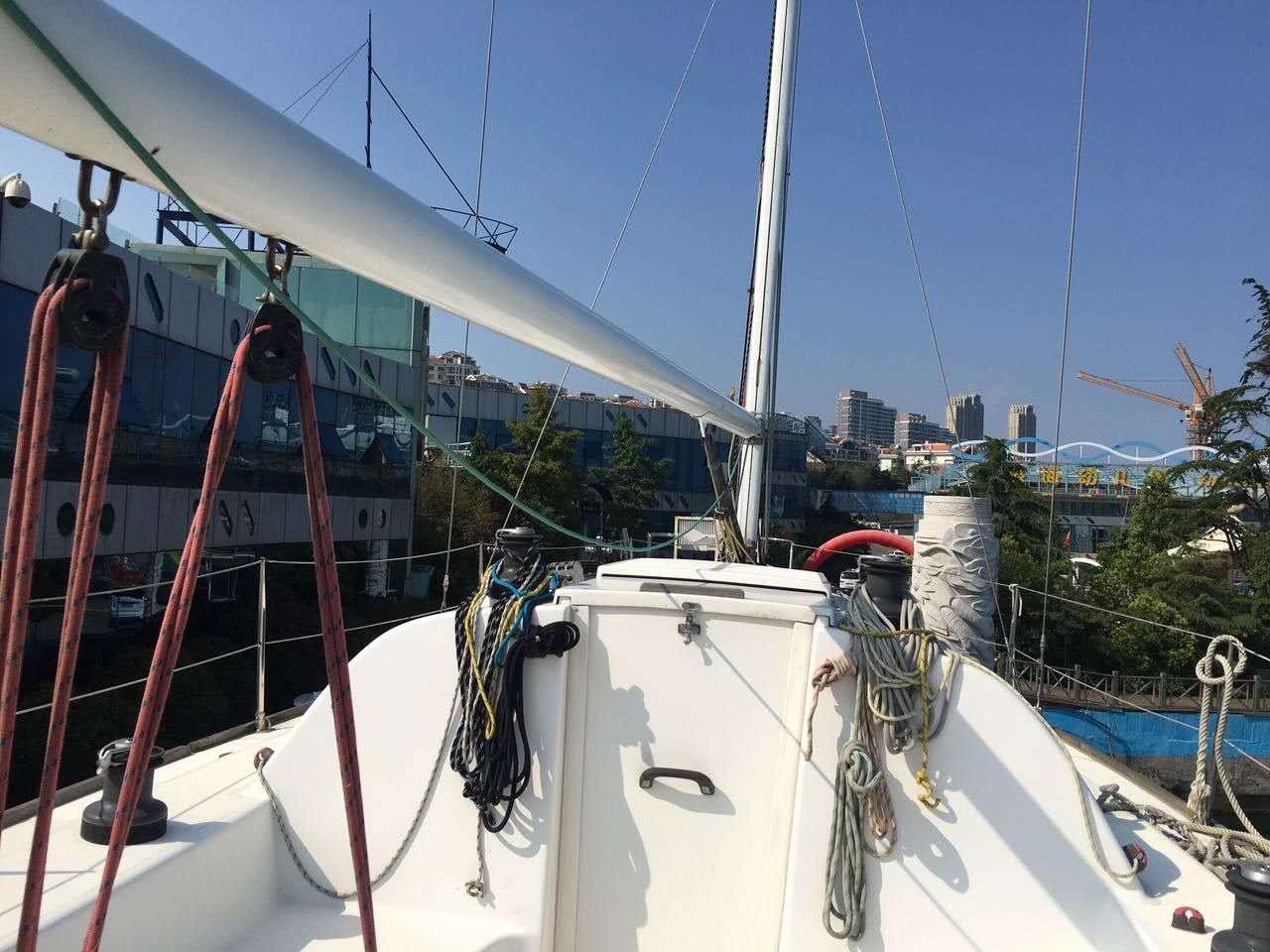 帆船,性能,出色,竞速,巡游 35尺竞速型巡游帆船转让  221847osbcfc3f