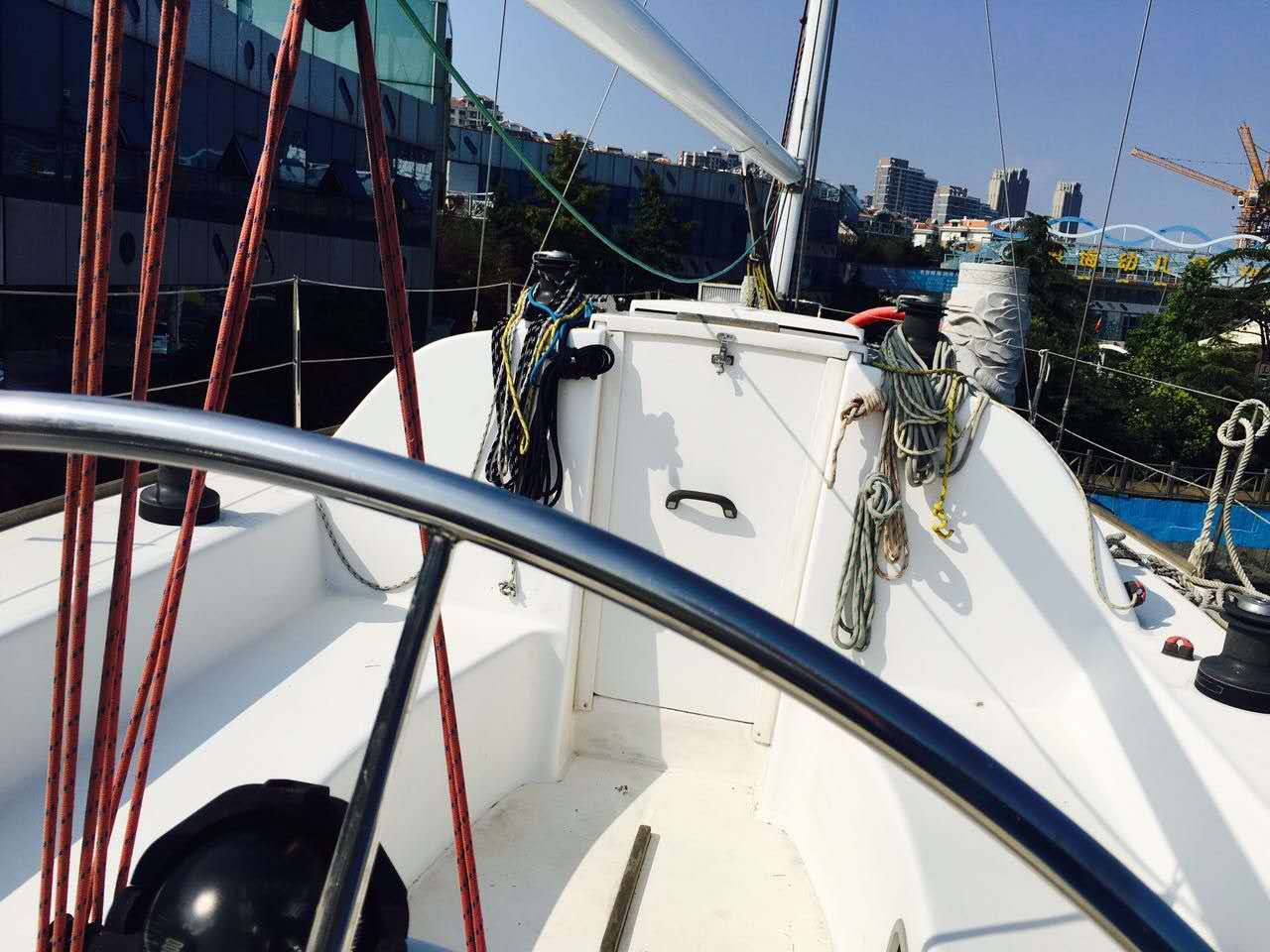 帆船,性能,出色,竞速,巡游 35尺竞速型巡游帆船转让  221848v7kk8qkb
