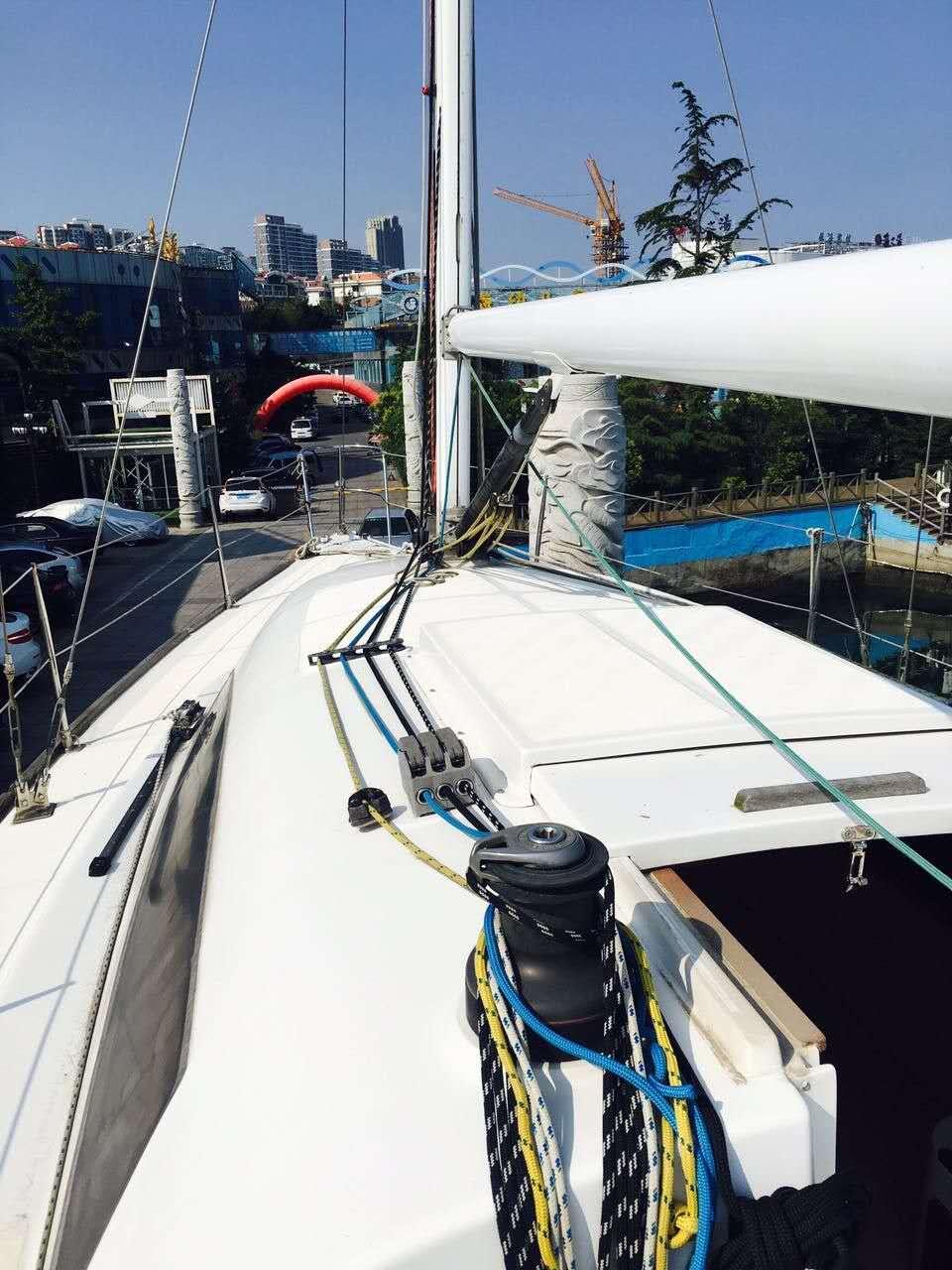 帆船,性能,出色,竞速,巡游 35尺竞速型巡游帆船转让  221849q5xcq7rr