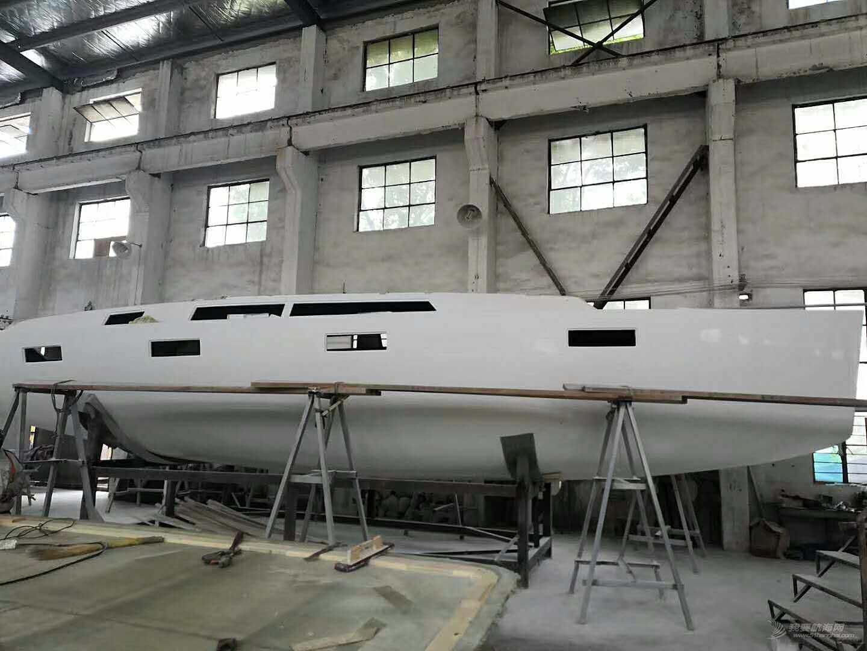 国产批量的41尺单体帆船