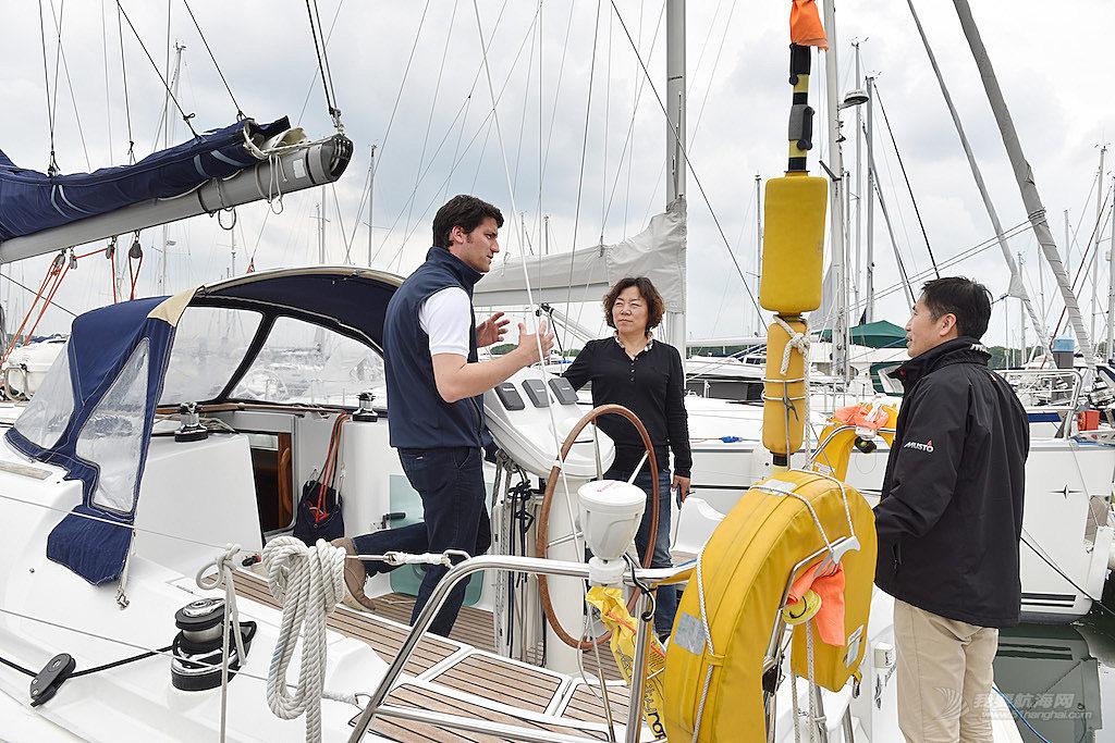 中帆协主席张小冬5月到访克利伯环球帆船赛总部 了解赛事相关事宜