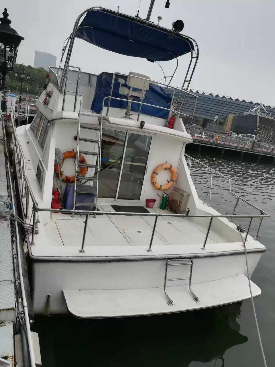 nbsp,使用,性价比,飞桥,游艇 42尺飞桥游艇转让(超高性价比)  105815p5ueeew1