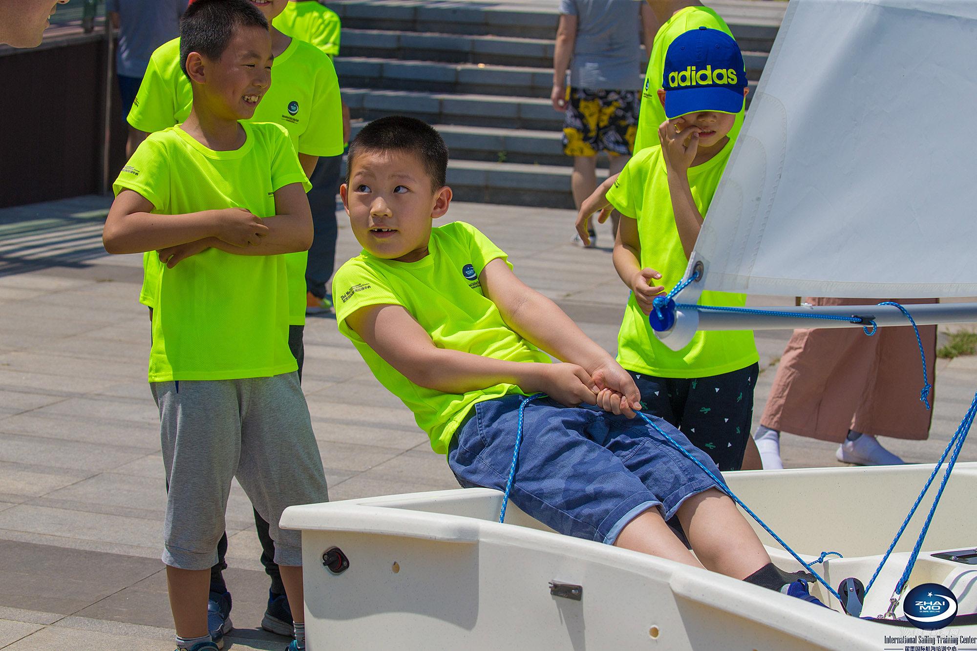 6.8世界海洋日- 青少年帆船公益活动在翟墨国际航海(北京)培训中心举行
