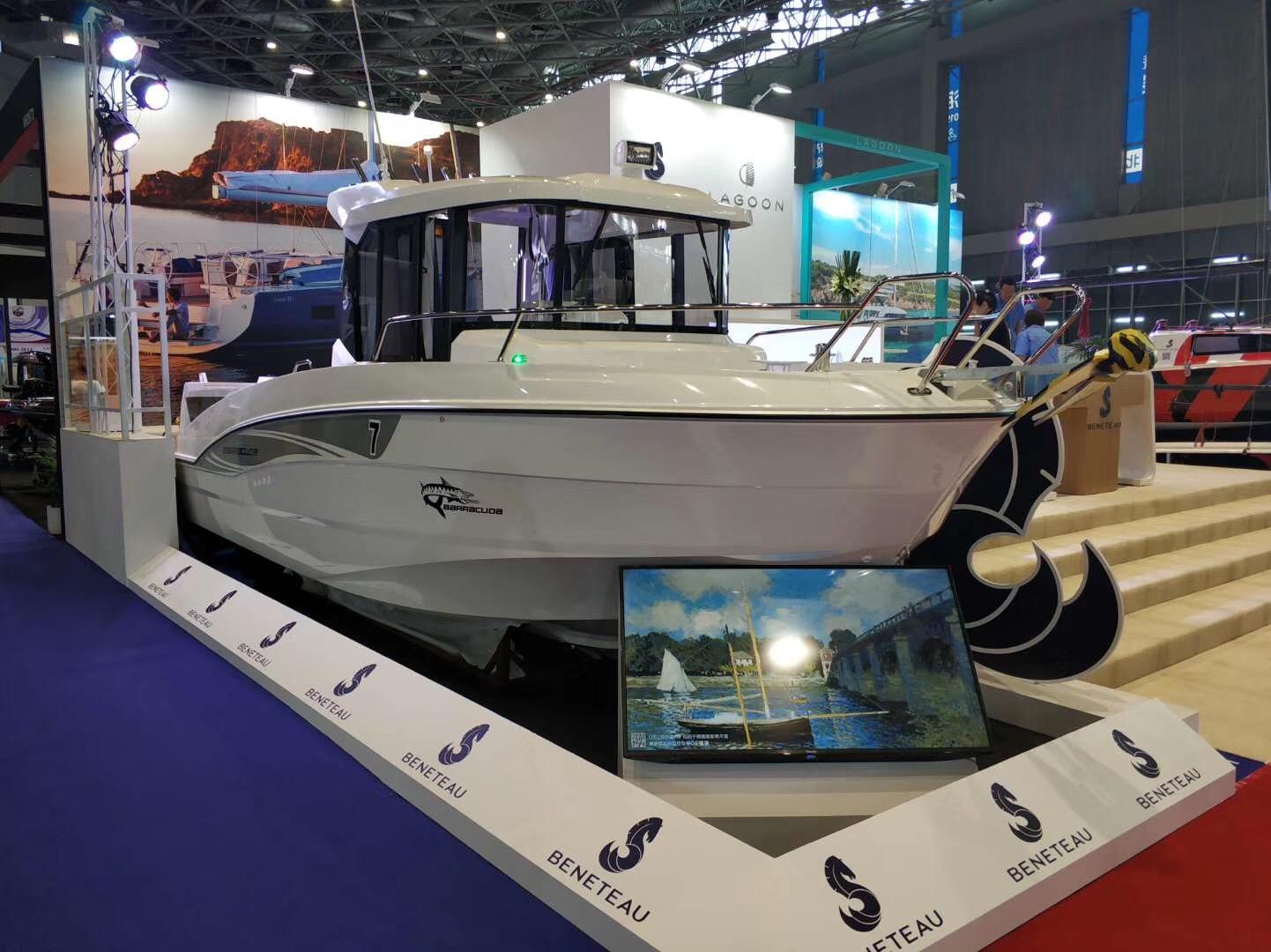 游艇,国际,上海,2019,中国 2019第二十四届上海船展开幕 博纳多携多艘全新船型亮相  184957lgk3o28d