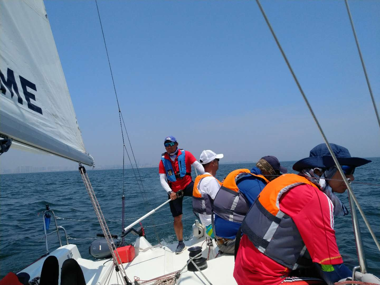 nbsp,我们,喜欢,帆船,一个 秦皇岛鸿洲帆船赛的菜鸟处女航~~  200039out77drv