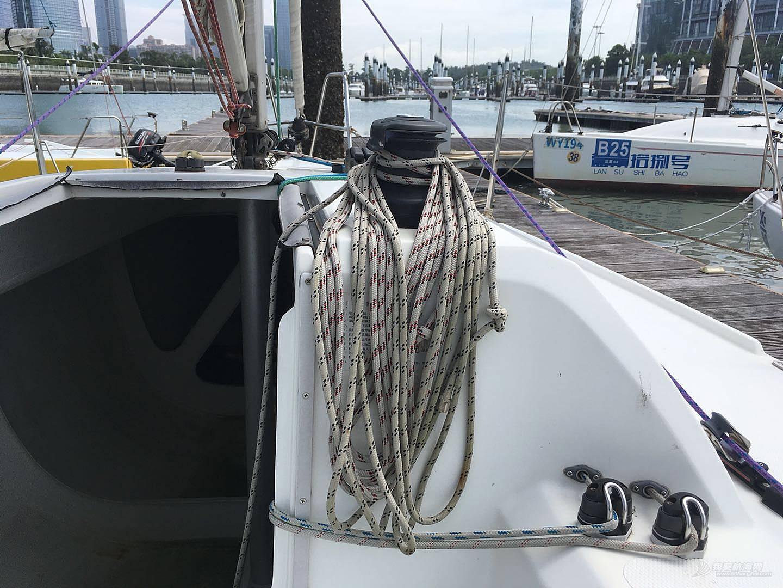 低价转让珐伊28R帆船