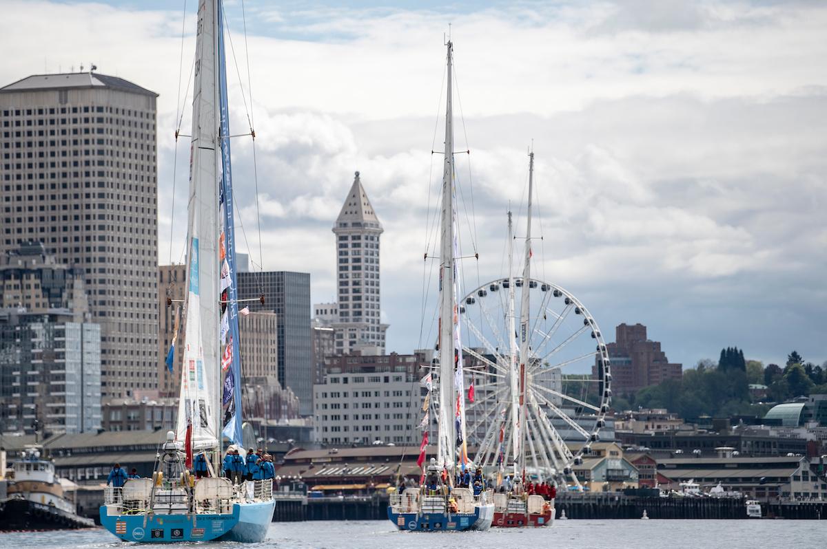 西雅图,帆船,克利,比赛,参加 新赛季克利伯帆船赛再次停靠'翡翠城  183159np0pyscp