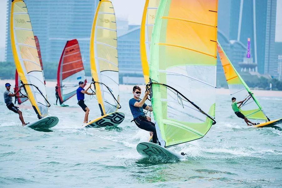 中国帆船帆板队首个征战奥运视频!加油!w12.jpg