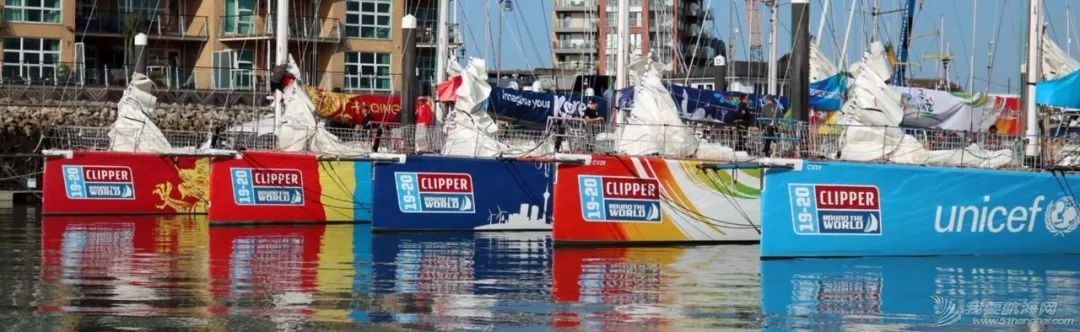 准备就绪、起航在即-克利伯比赛船队从总部出发驶向开赛地伦敦w4.jpg