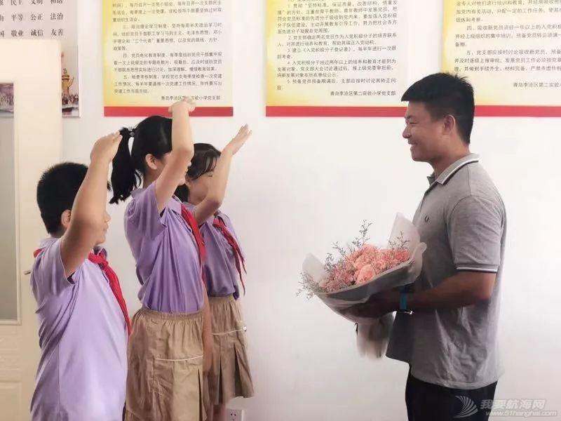 李沧区校友郑毅即将出征克利伯环球帆船赛!w11.jpg
