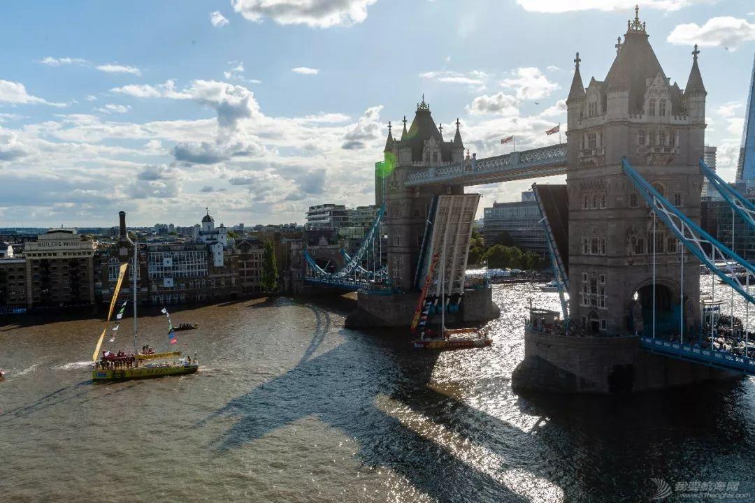 克利伯2019-20帆船赛盛大起航,伦敦塔桥开启助阵船队出发w1.jpg