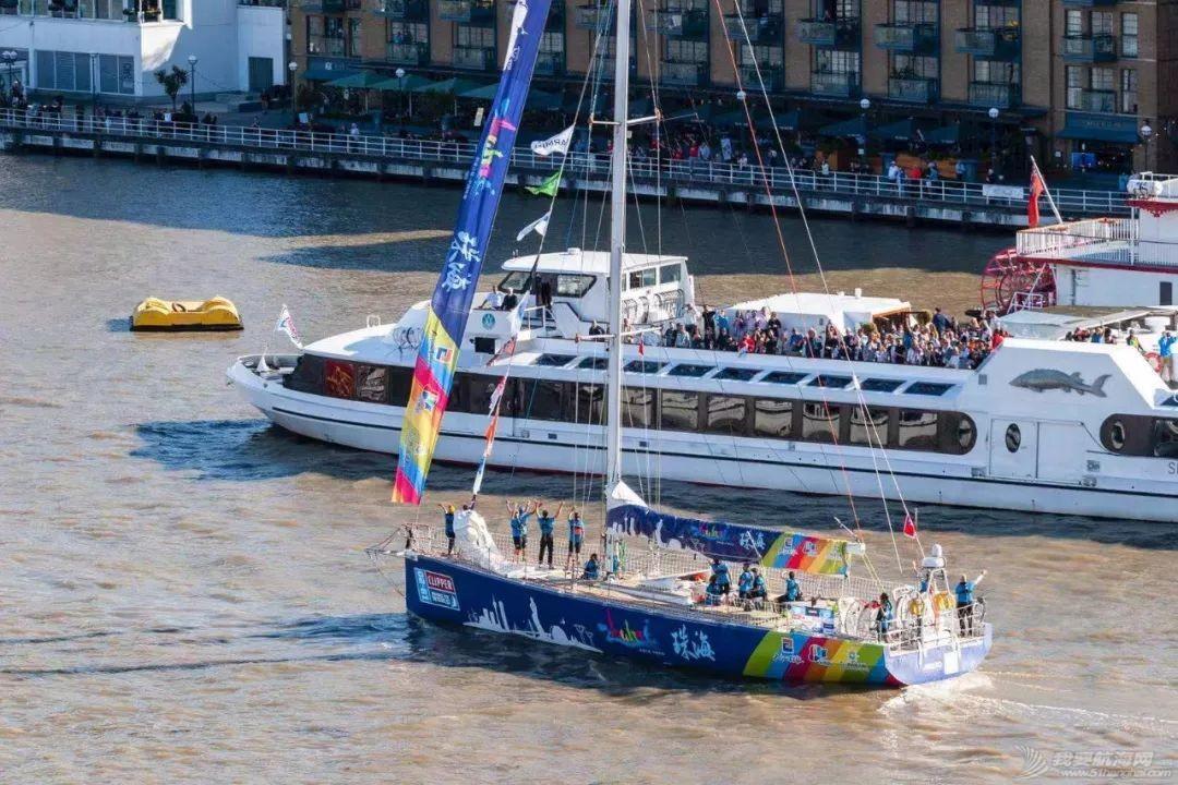 克利伯2019-20环球帆船赛于伦敦盛大起航——青岛、三亚、珠海三艘中国船展开环球之旅w5.jpg