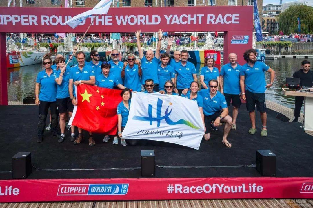 克利伯2019-20环球帆船赛于伦敦盛大起航——青岛、三亚、珠海三艘中国船展开环球之旅w7.jpg
