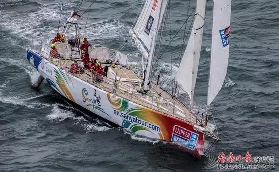 三亚号起航参加克利伯环球帆船赛 明年2月抵达三亚w2.jpg