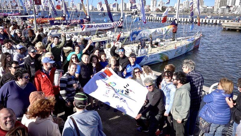 三亚号再起航 跨越大西洋驶向乌拉圭w7.jpg