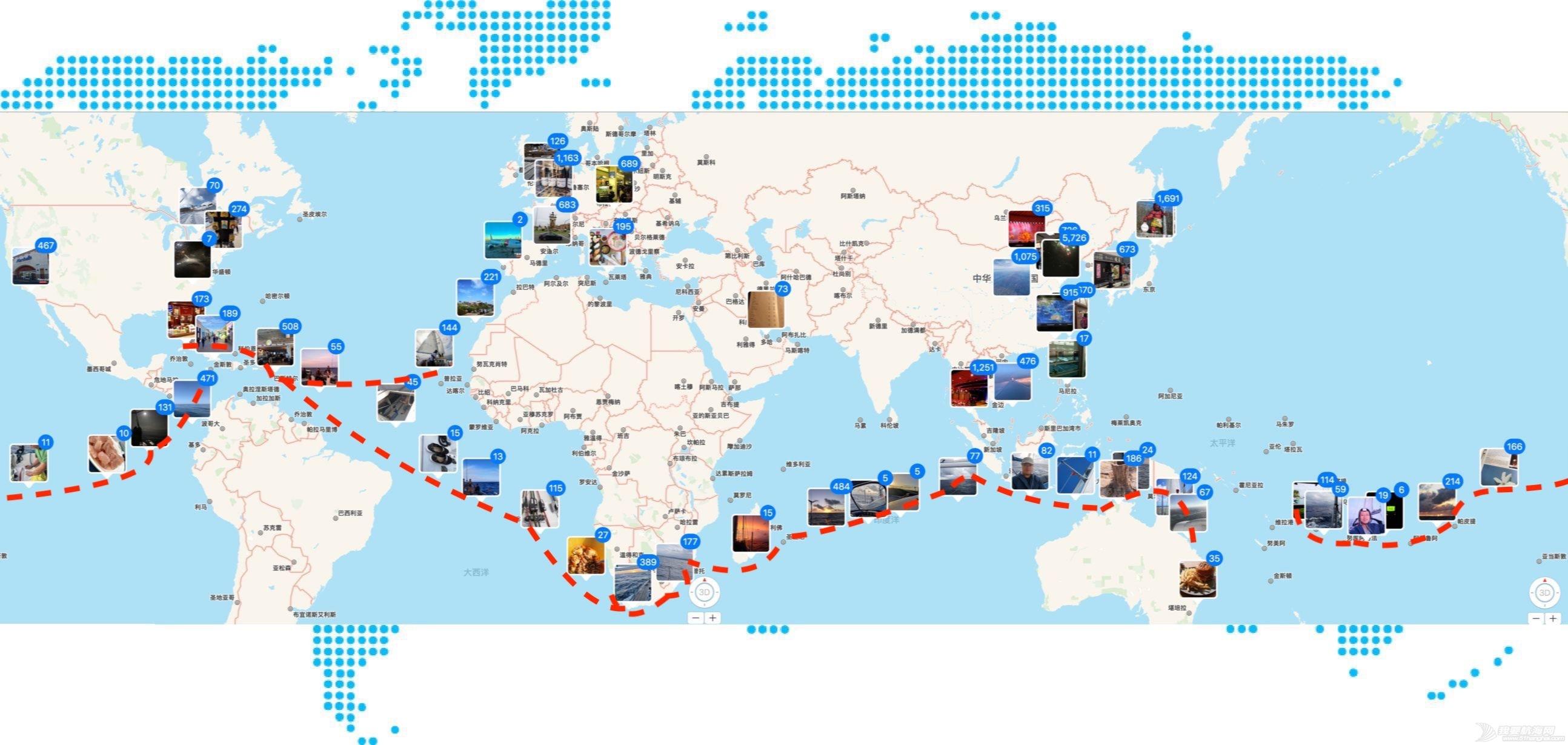 【全球搭船信息】搭58尺豪华双体船免费世界巡游