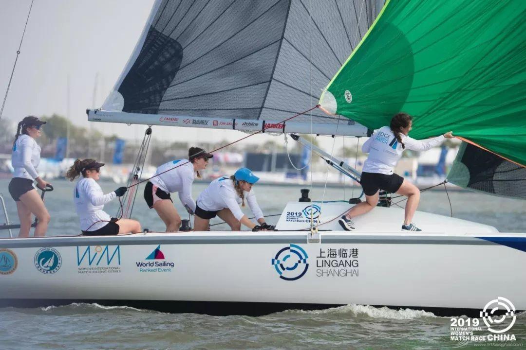2019中国国际女子帆船对抗赛在滴水湖开赛 法国队展现强大实力 中国赛队渐入佳境w3.jpg
