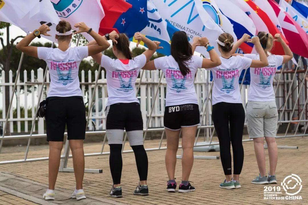 2019中国国际女子帆船对抗赛在滴水湖开赛 法国队展现强大实力 中国赛队渐入佳境w4.jpg