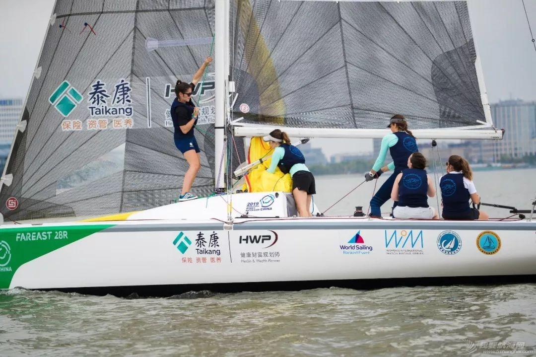 2019中国国际女子帆船对抗赛在滴水湖开赛 法国队展现强大实力 中国赛队渐入佳境w7.jpg