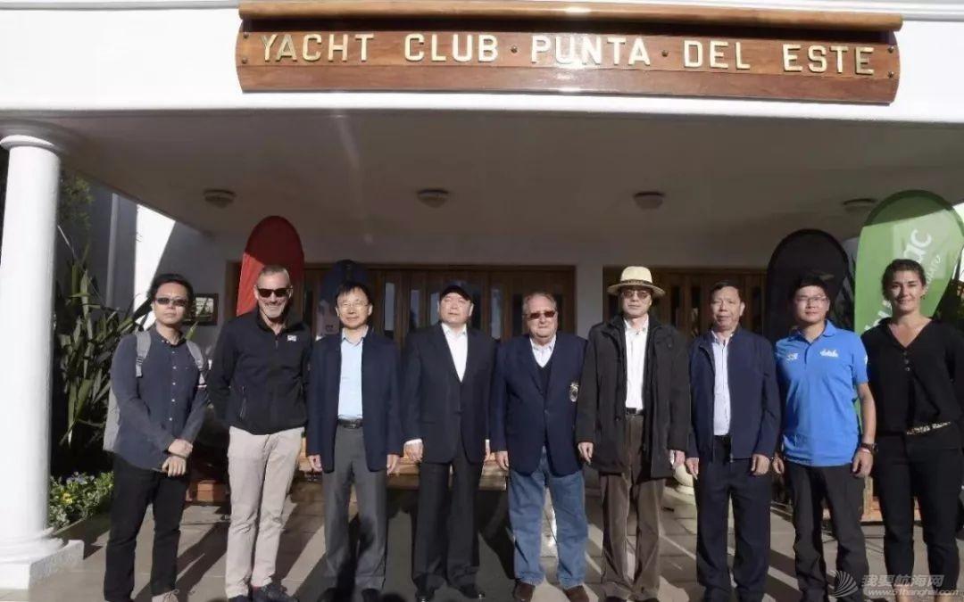 中国驻乌拉圭大使赴埃斯特角停靠站参观克利伯帆船赛w4.jpg