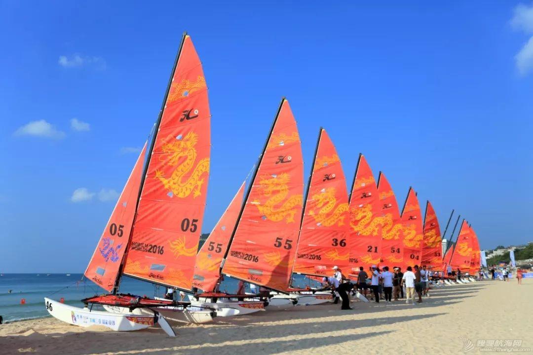 """2019三亚""""大东海杯""""·Hobie16帆船邀请赛开赛w2.jpg"""