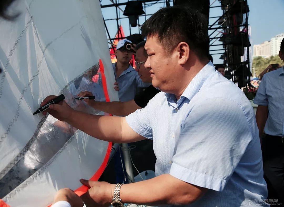"""2019三亚""""大东海杯""""·Hobie16帆船邀请赛开赛w6.jpg"""