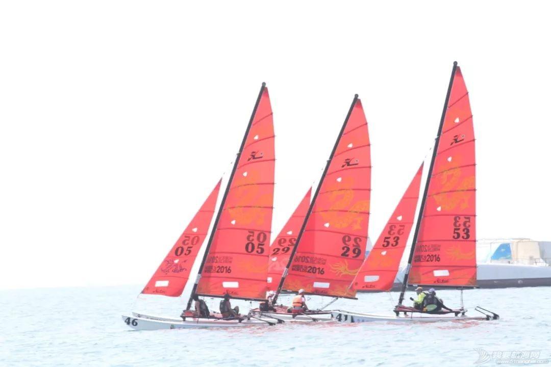 """2019三亚""""大东海杯""""·Hobie16帆船邀请赛开赛w7.jpg"""