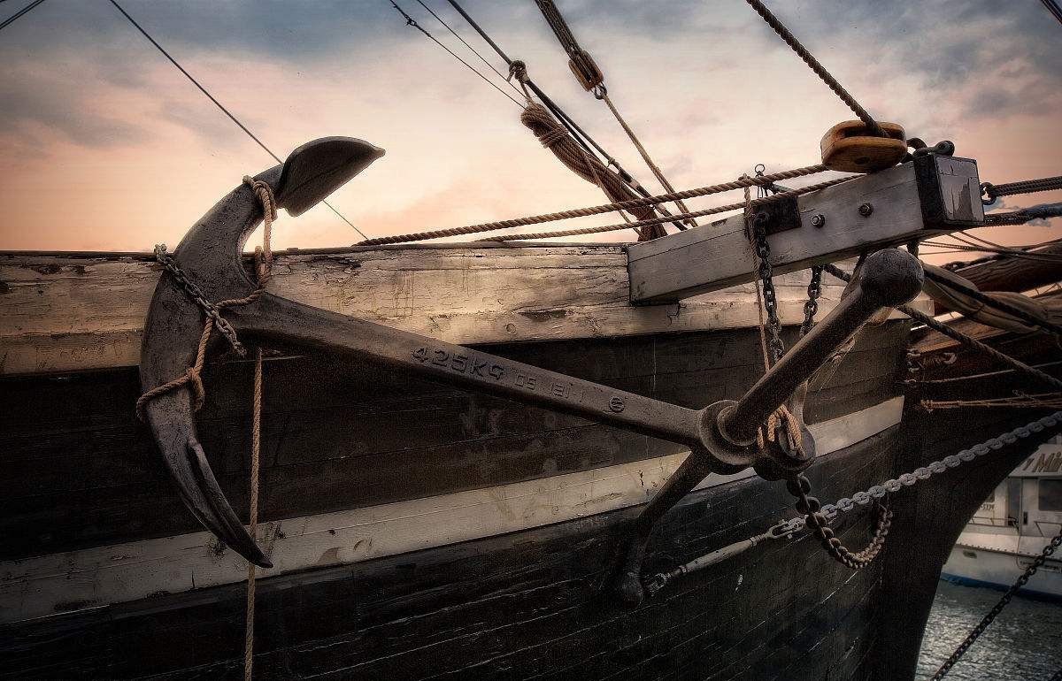 抛锚,深的,看到,缆绳,最小 帆船真正的动力之源  154746prjjhr6r0l4c105v